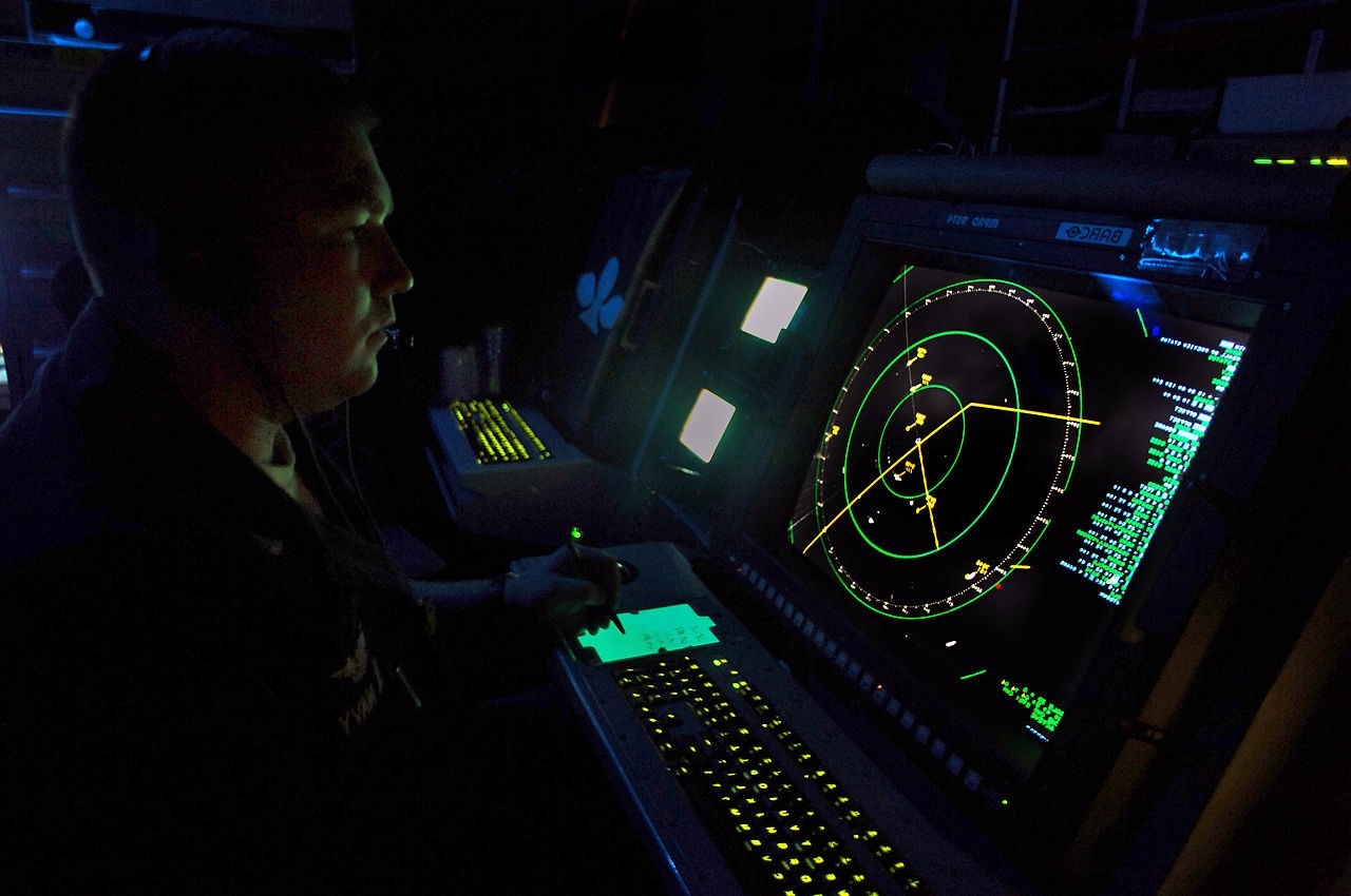 screen radar della us navy
