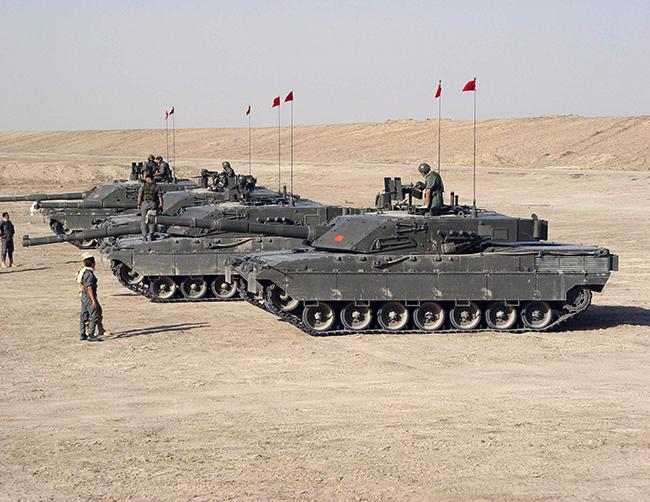 Iraq c1 ariete tank carroarmato italia italiano mbt iveco oto melara