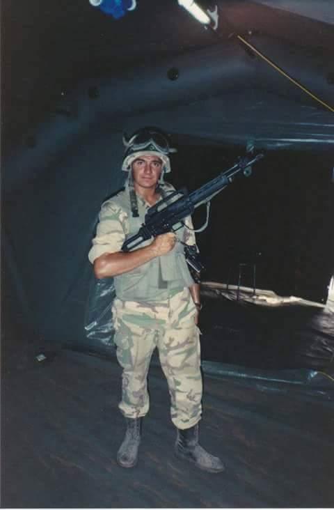 SCP 70/90. Foto di Andrea Radaelli, scattata nella armeria del campo di Balad durante la missione IBIS (Somalia, Febbraio/Marzo 1993).