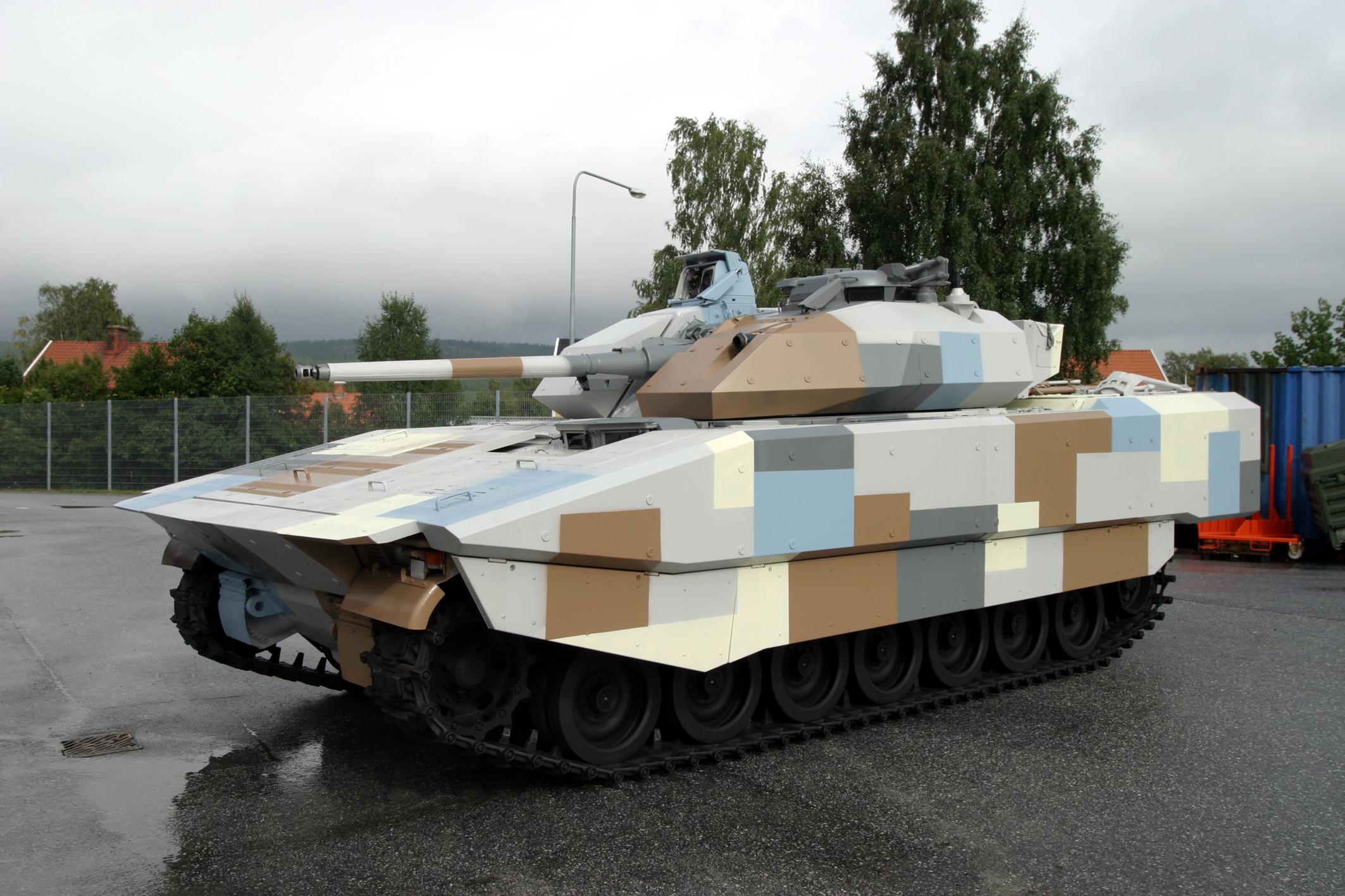 CV 90 con kit Rafael