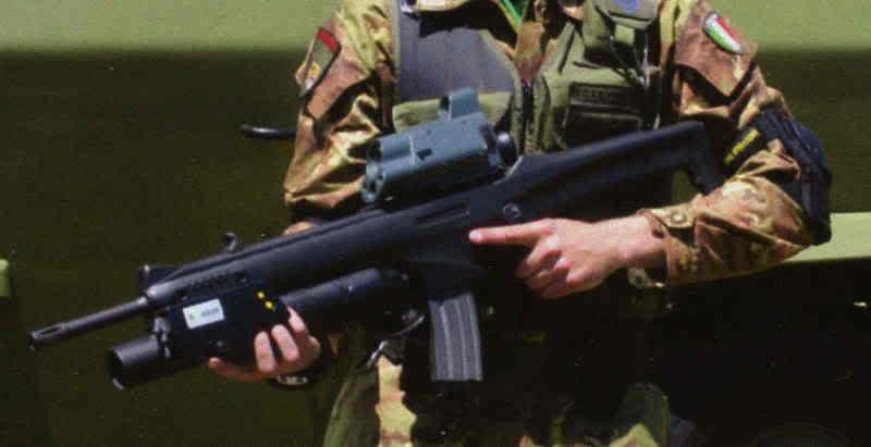 """AR 70/90 camuffato da """"futuro"""" ARX 160."""