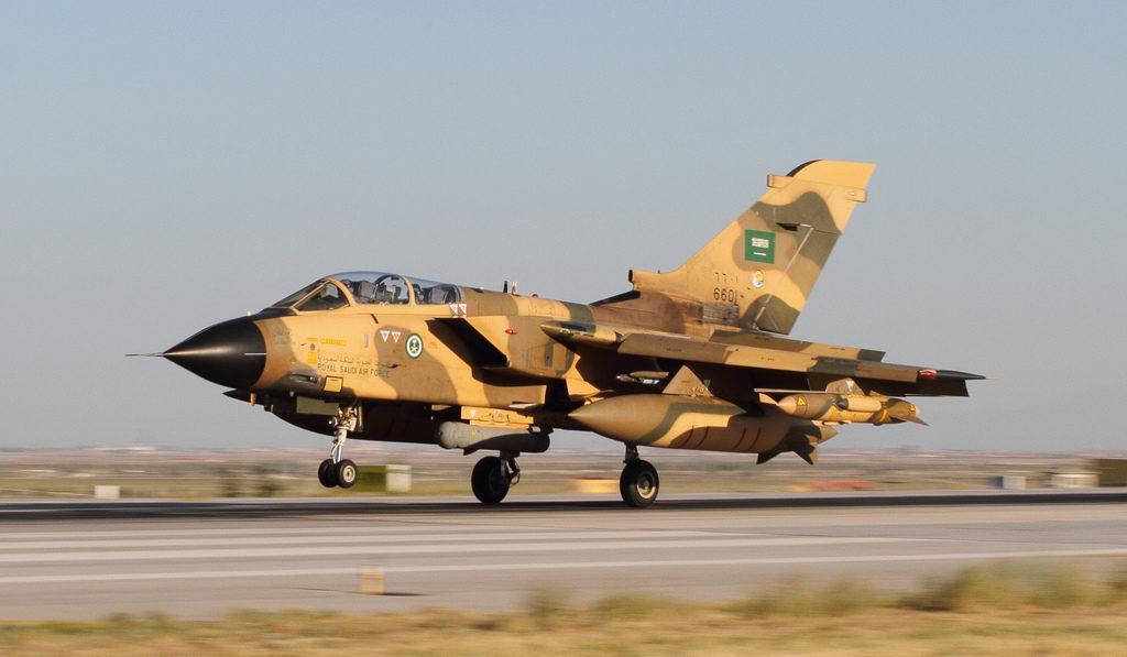 Tornado IDS GR.4 della Royal Saudi Air Force