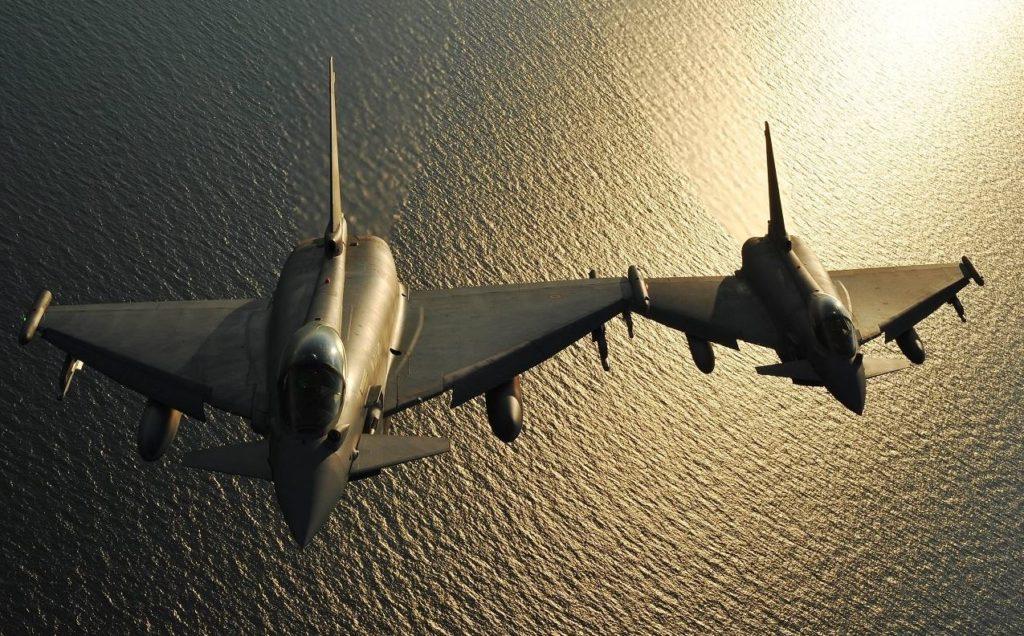 eurofigther typhoon efa ami aeronautica militare italiana