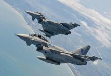 eurofighter typhoon ef 2000 caccia superiorità aerea aeronautica militare italiana