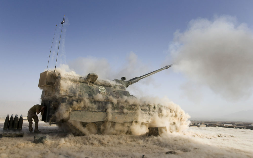 pzh 2000 obice semovente self-propelled howitzer