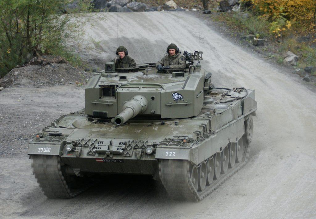 leopard 2a4 version austria astriaco
