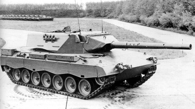 kpz keiler mbt carroarmato prototipo leopard 2