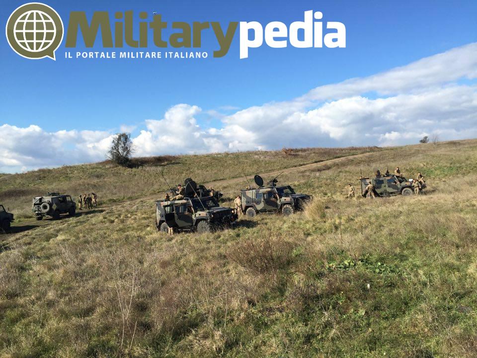 iveco lince esercito italiano esercitazione