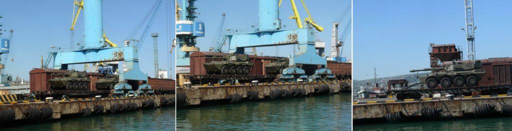 Centauro e VBM Freccia in spedizione verso la Russia.