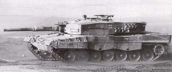 Leopard 2 A1.