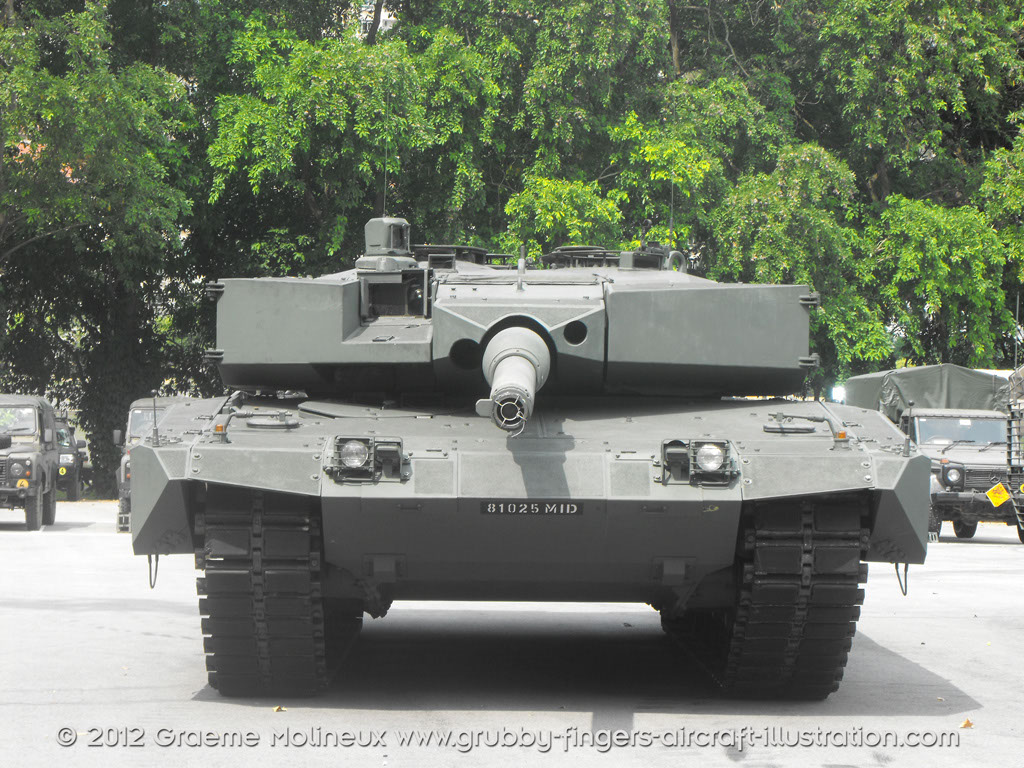 Leopard Mbt Singapore Walkaround