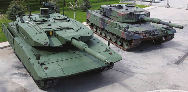 leopard 2T turkey turchia