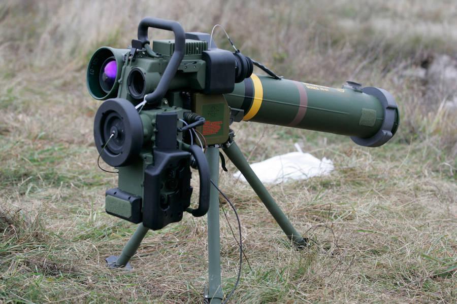 tripod treppiedi lanciatore missile spike