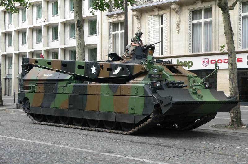 ARV leclerc armored recovery vehicle dng dcl