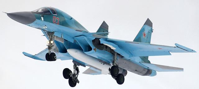 Su-34 con PTB-3000.