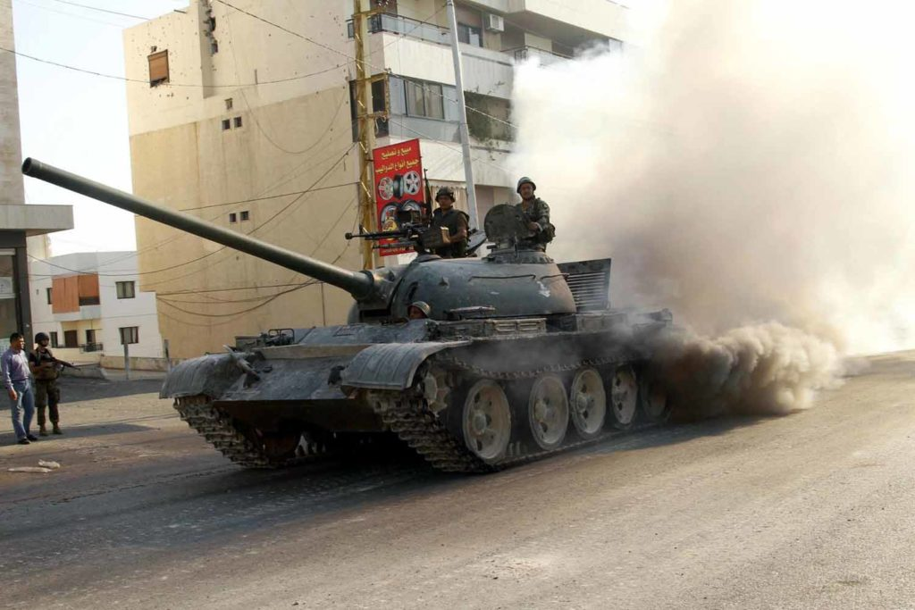t-54-3 prototype model libano lebanon