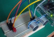 sensore ultrasuoni arduino ultrasonic sensor hc sr04