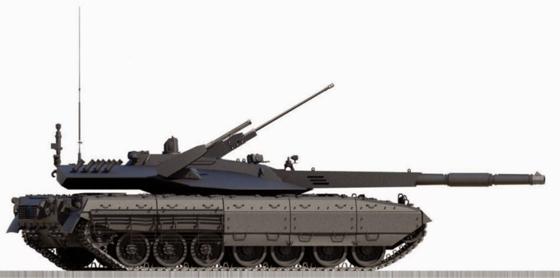 Armata T14 Concept MBT
