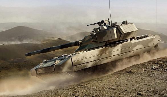 Concept dell'MBT T14 Armata