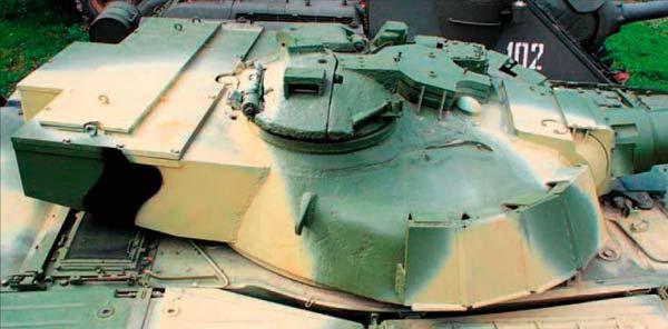 torretta del carro armato object 292 variante del t-80