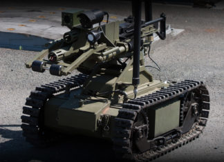 OtoMelara Unmanned Ground Vehicle esercito italiano