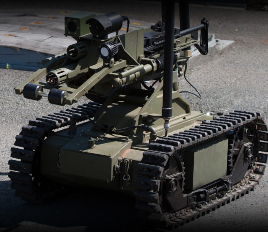OtoMelara Unmanned Ground Vehicle esercito italiano