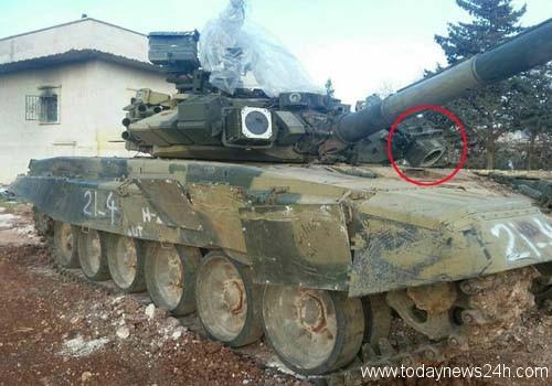 T-90-siriano-colpito-da-missile-TOW
