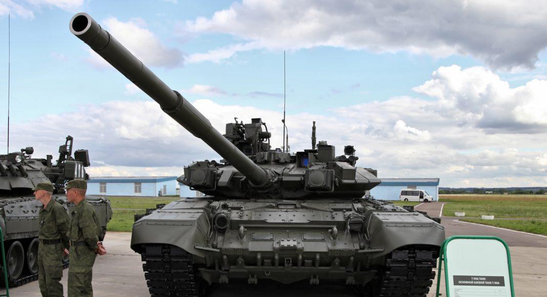 t-90a mbt tank carroarmato