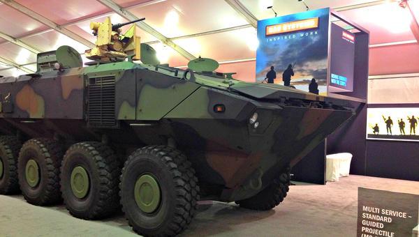 eurosatory 2016 snafu acv 1.1 marines bae systems iveco