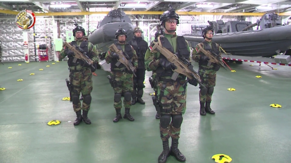soldati egiziani con beretta ARX160