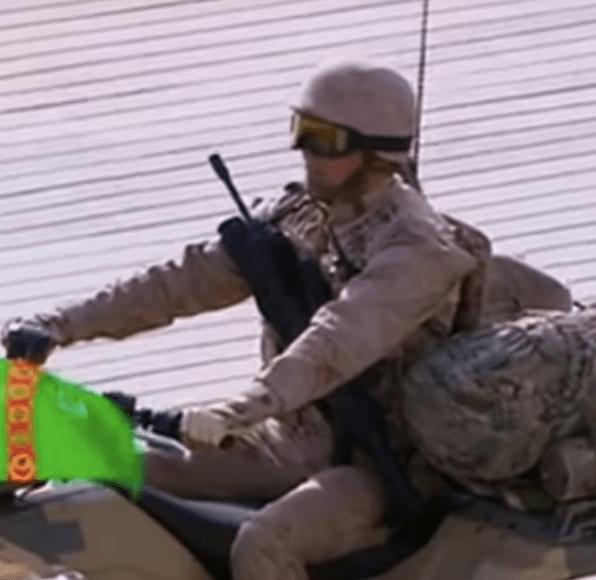 parata militare in turkmenistan beretta arx160