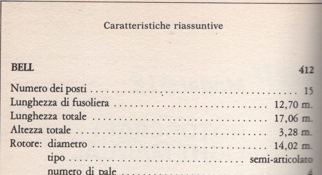 caratteristiche ab 412 augusta bell aviazione esercito italiano