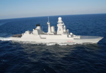 cacciatorpediniere andrea doria DDG marina militare italiana caio duilio