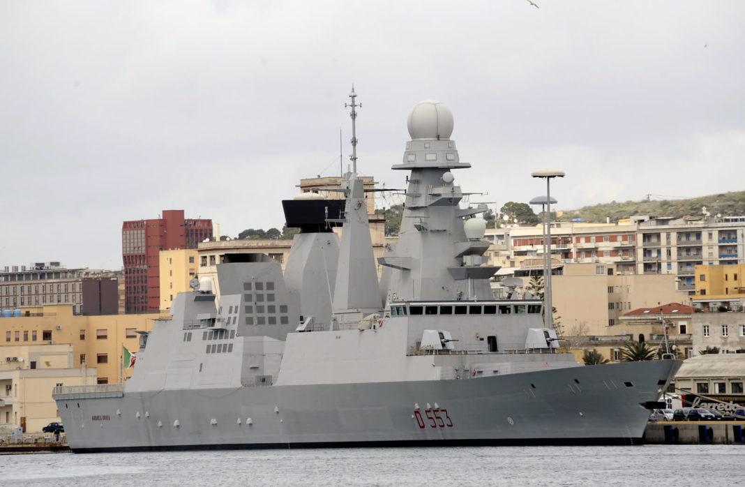 classe orizzonte andrea doria cacciatorpediniere lanciamissili antiaereo destroyer guided missile ddg d553