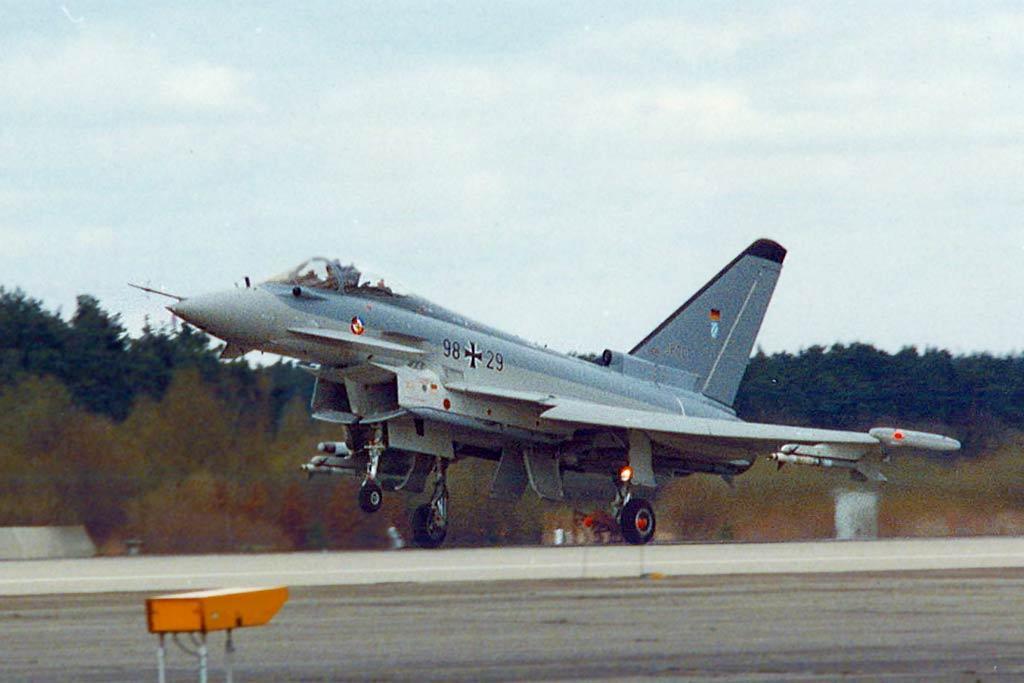 prototipo eurofiigther efa 1998 prototype
