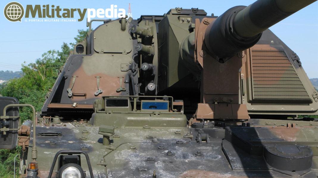 esercito italiano pzh 2000 obice semovente