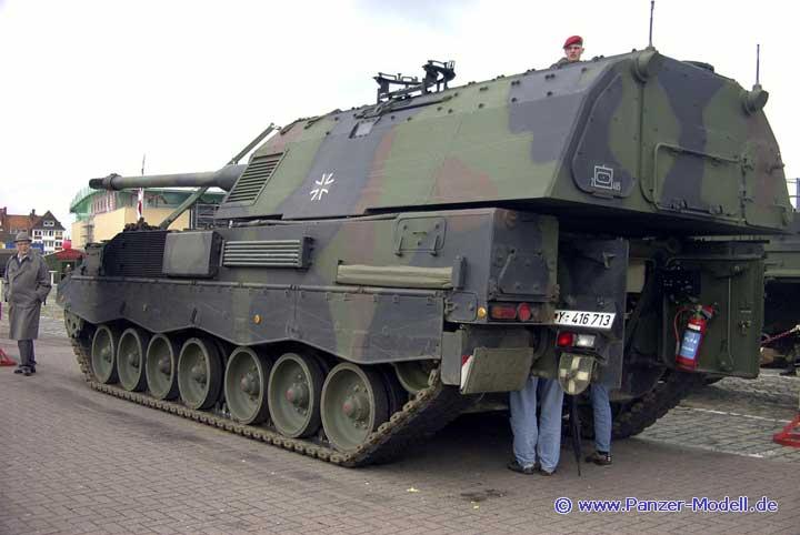 esercito tedesco pzh 2000 german army