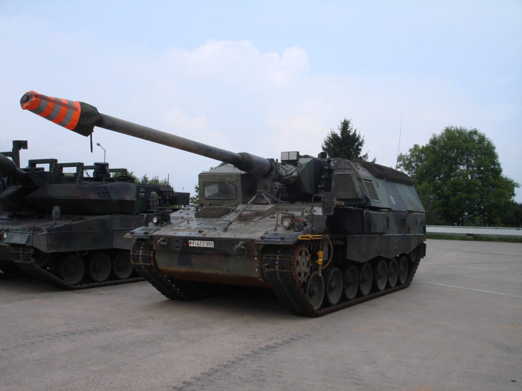 pzh 2000 howitzer self-propelled