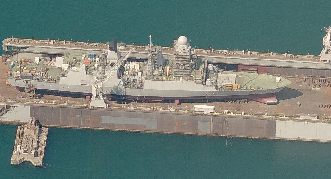 costruzione porto fincantieri andrea doria d553 ddg