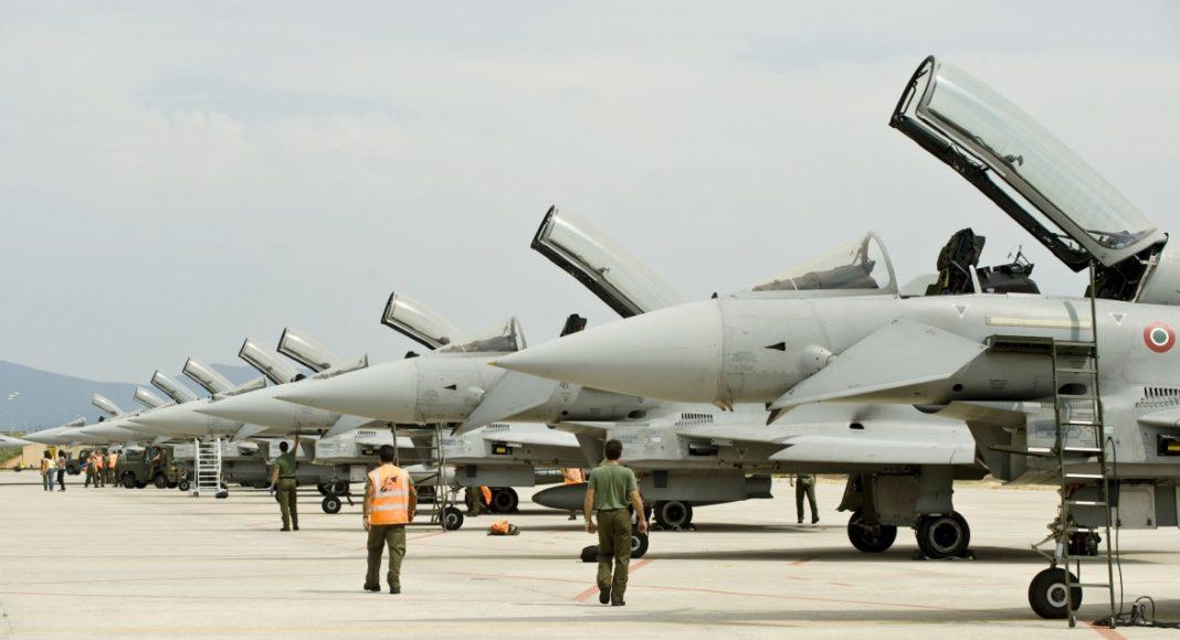 grosseto eurofighter typhoon ami aeronautica militare italiana