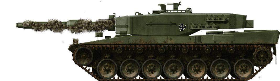 Erprobungsserie pre-serie tank mbt leopard2 leo2 krauss-mafei