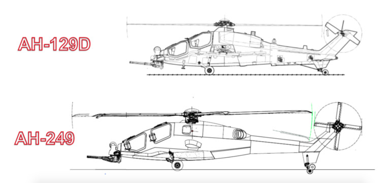 esercito italiano aves mangusta a129 ah-249a differences differenze