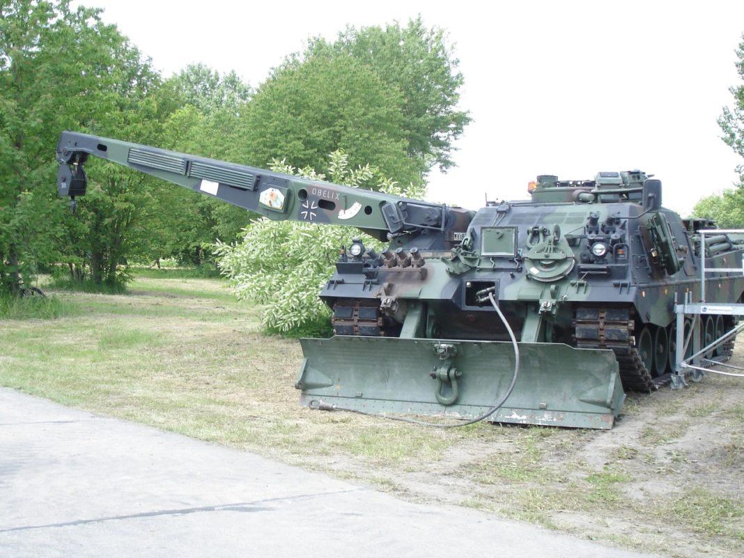 ARV Bergepanzer BPz3 Büffel