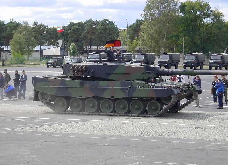 leo2a4pl polonia leopard2 camouflage
