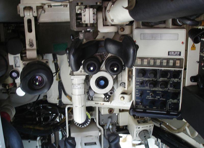fcs fire control system sistema di puntamento