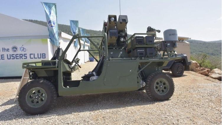 missile spike nlos e sistema modulare di lancio