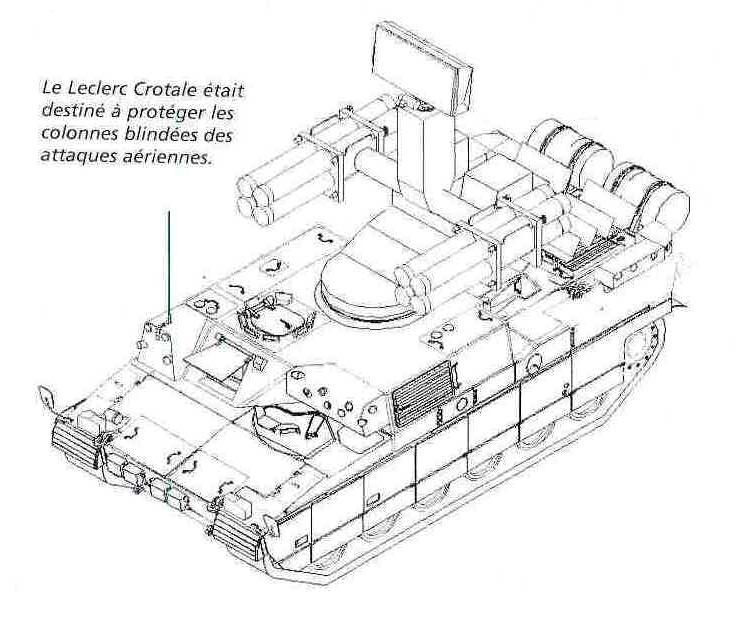 crotale anti air leclerc concept