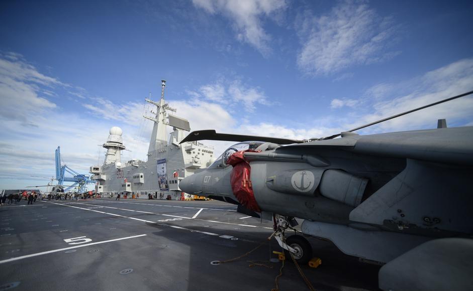 av8b harrier plus portaerei cavour marina militare italia italiana