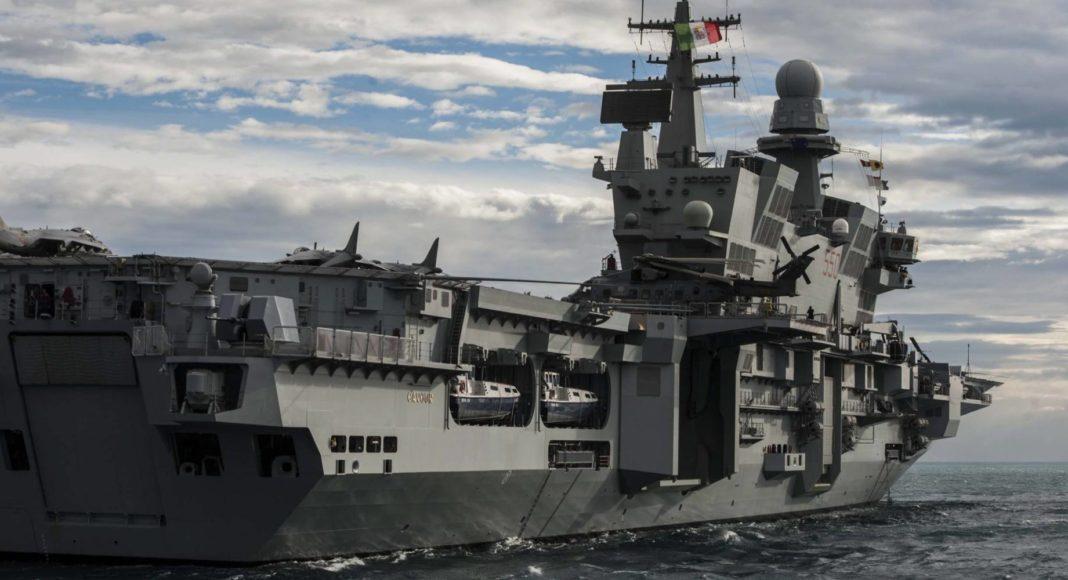 cavour portaerei aircraft carrier italy marina militare italiana