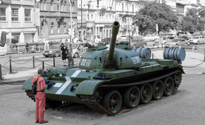 praha praga t-54a